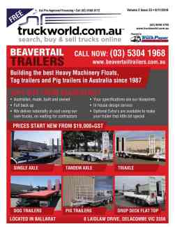 Truckworld Magazine Issuze Cover