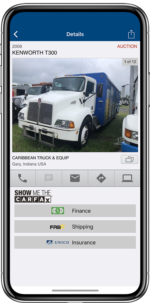 TRUCK on iOS & Android | Download The Free App