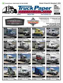 TruckPaper com | Over The Road and Commercial Truck