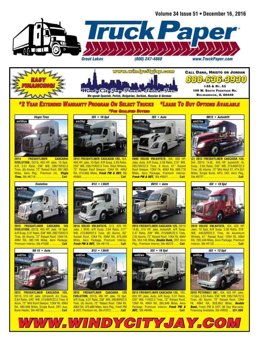 Truck Paper