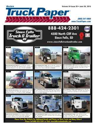 Truck Paper Cover