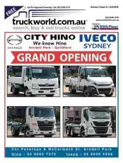 Truckworld Magazine Issuze Cover