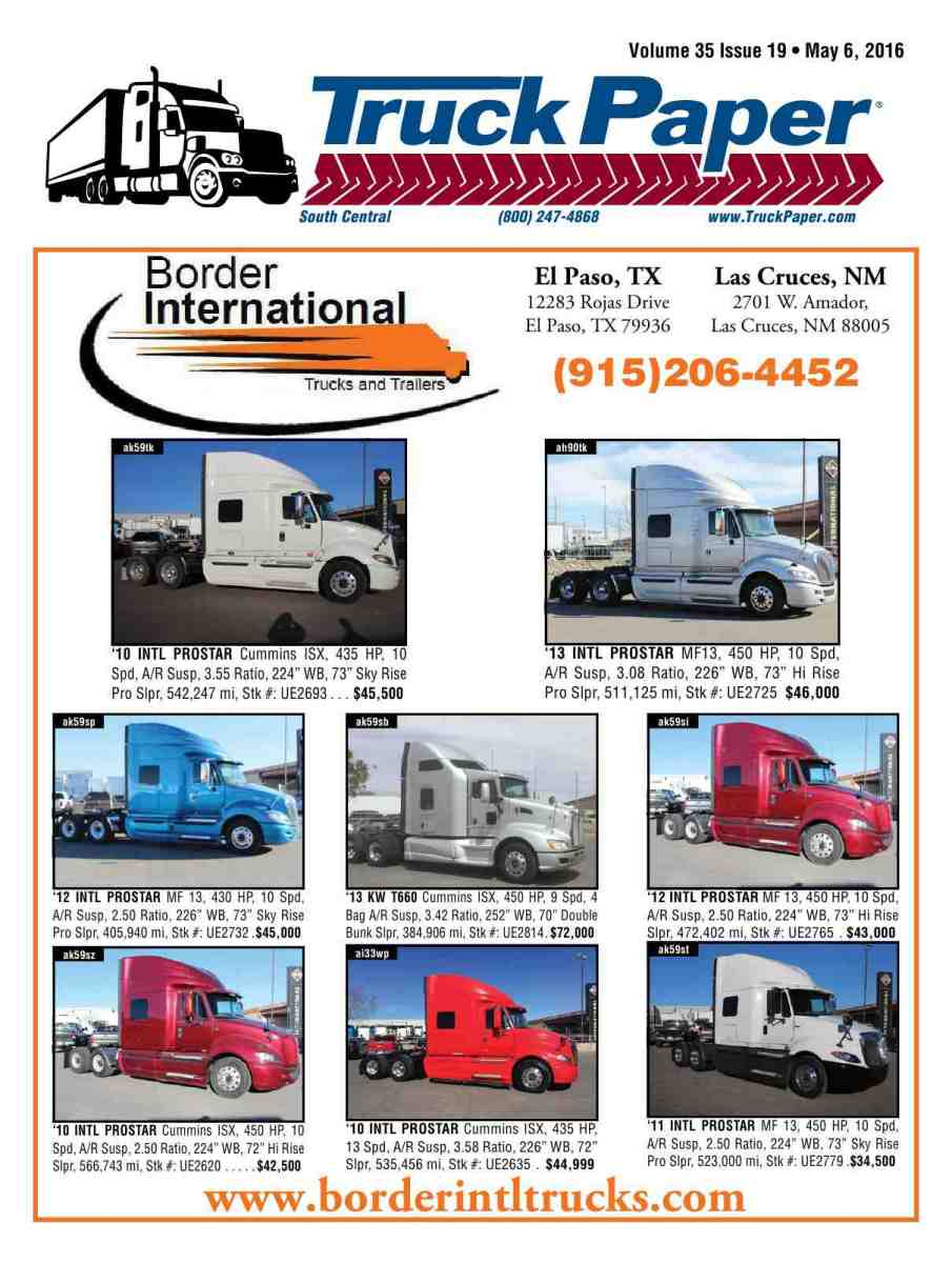 Truck paper reproduction of material appearing in truck paper is strictly prohibited without express prior written consent truck paper is a registered trademark of fandeluxe Image collections