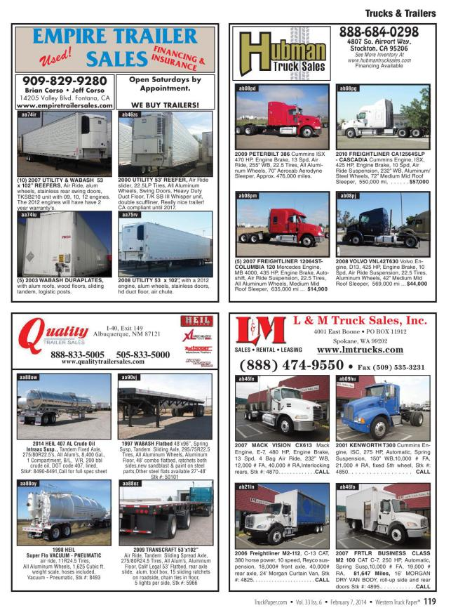 Truck Paper on